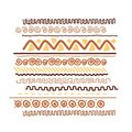 Design element with ethnic handmade ornament this is file of eps format Royalty Free Stock Photos