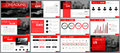 Design element of infographics for presentations templates. Royalty Free Stock Photo