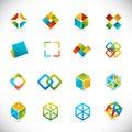 Dizajn prvky kocky
