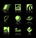 Design Elements - Icon Set (2) Stock Photos