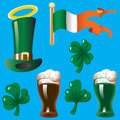 Design elements for St. Patricks Day Stock Photo