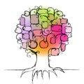 Diseño de familia árbol