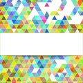 Design geometrical background polygonal hipster abstract vector Royalty Free Stock Photos