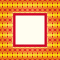 Design gold pattern frame Royalty Free Stock Photos