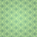 Design green ornament wallpaper Stock Photos
