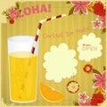 Design Menu card for Cocktail Bar