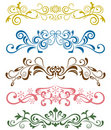 Design ornaments set Royalty Free Stock Image