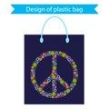 Design of plastic bag.
