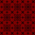 The design red vintage style wallpaper background Royalty Free Stock Photo