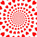 Design red whirl heart backdrop valentines day ba background vector art Royalty Free Stock Images