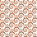 Design seamless colorful decorative spiral pattern Royalty Free Stock Photo