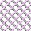 Design seamless colorful geometric pattern