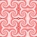 Design seamless colorful twirl movement pattern. A Royalty Free Stock Photo