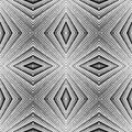 Design seamless diamond striped pattern. Abstract  Stock Photo