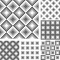 Design seamless geometrical pattern vector art Royalty Free Stock Image
