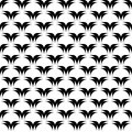 Design seamless monochrome diagonal pattern vector art Royalty Free Stock Photos