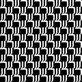 Design seamless monochrome geometric background vector art Stock Photos