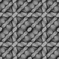 Design seamless monochrome grid pattern