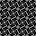 Design seamless monochrome pattern vector art Royalty Free Stock Photo