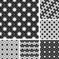 Design seamless monochrome pattern vector art Stock Photo
