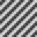 Design seamless monochrome pattern vector art Stock Photography