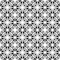 Design seamless monochrome pattern vector art Royalty Free Stock Images