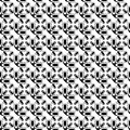 Design seamless monochrome pattern vector art Stock Image