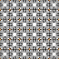 Design seamless monochrome tetragon pattern vector art Royalty Free Stock Image