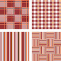 Design seamless pattern set vector art Royalty Free Stock Photography