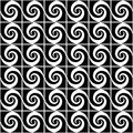 Design seamless spiral decorative pattern Royalty Free Stock Photo