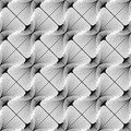 Design seamless striped diagonal pattern geometric abstract monochrome waving lines background speckled texture vector art Royalty Free Stock Image