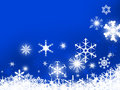 Design of snowflakes Royalty Free Stock Photo