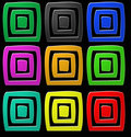 Design square Royalty Free Stock Images