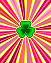 Design for St. Patrick's Day Stock Image