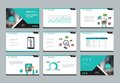Design template for business presentation  with infographic elements design