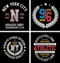 Vector patch varsity collection 07