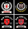 Vector patch varsity collection 09