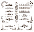 Design vintage ornaments borders, frames, corners Royalty Free Stock Photo