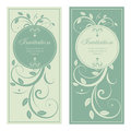 Design of wedding invitation vector Royalty Free Stock Image