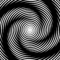 Design whirlpool movement illusion background Royalty Free Stock Photo
