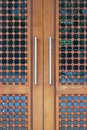 Design Wooden Doors Stock Photos