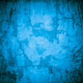 Designed blue grunge plastered wall texture, background Royalty Free Stock Image
