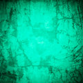 Designed green grunge plastered wall texture, back Royalty Free Stock Image