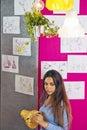 Designer in creative studio