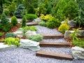 Designer garden Royalty Free Stock Image