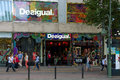 Desigual shop on kurfuerstendamm berlin july is a casual clothing brand which is noted for its patchwork designs intense Stock Images