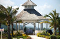 Desintation Wedding gazebo Royalty Free Stock Photography