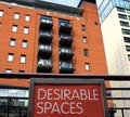 Desirable spaces. City apartment property