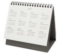 Desk Calendar 2015 Royalty Free Stock Photo