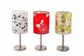 Desk Lamp Light Art Home Furnishing Royalty Free Stock Photo